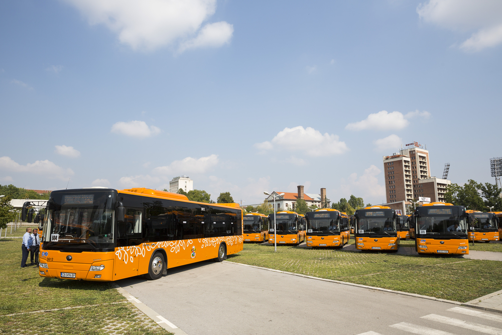 used city buses